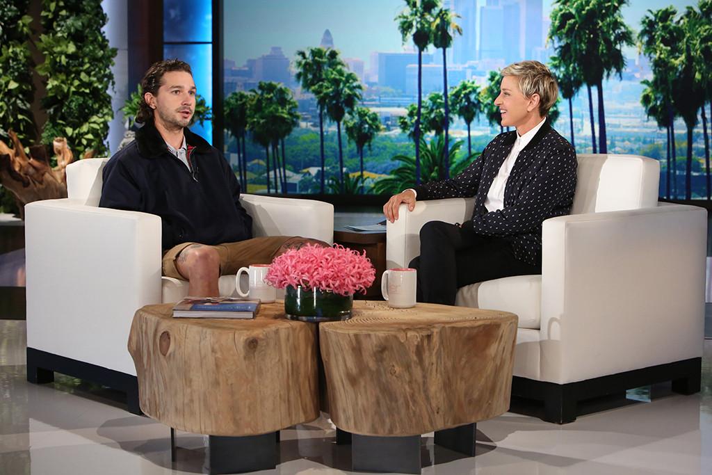 Shia LaBeouf, Ellen DeGeneres, The Ellen DeGeneres Show
