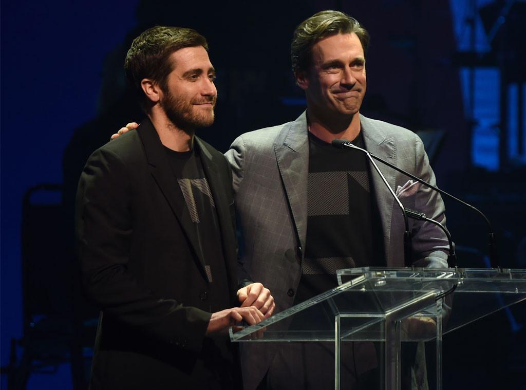 Jake Gyllenhaal, John Hamm, Hillary Clinton Fundraising Concert