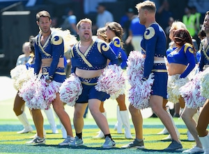 James Corden, Celebrity Rams Fans