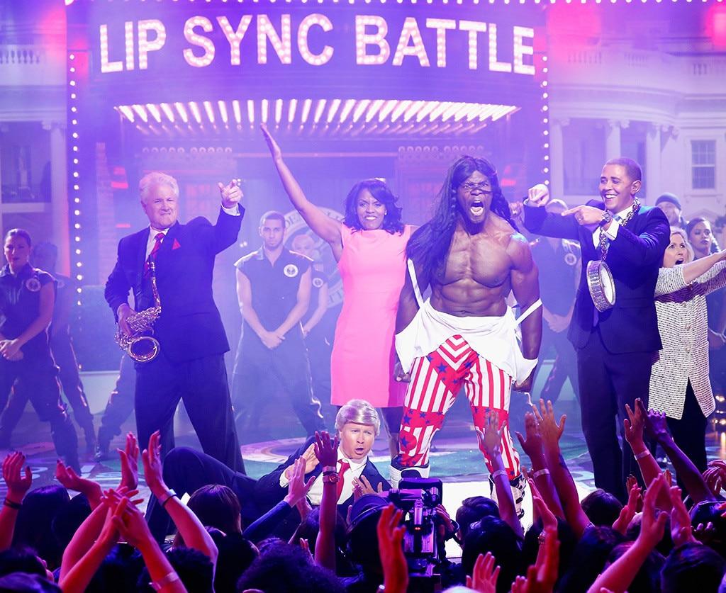 Terry Crews From Lip Sync Battle Performances E News