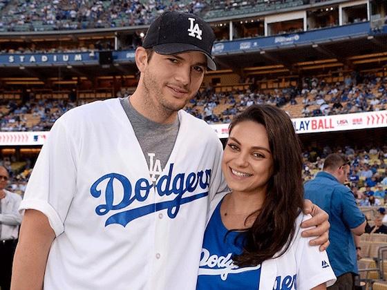 Mila Kunis und Ashton Kutcher verraten den Namen ihres 2. Babys: Dimitri Portwood Kutcher!