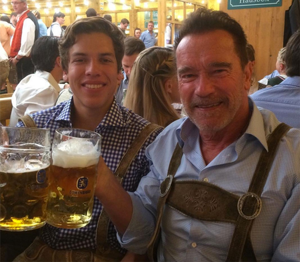 Arnold Schwarzenegger, Instagram
