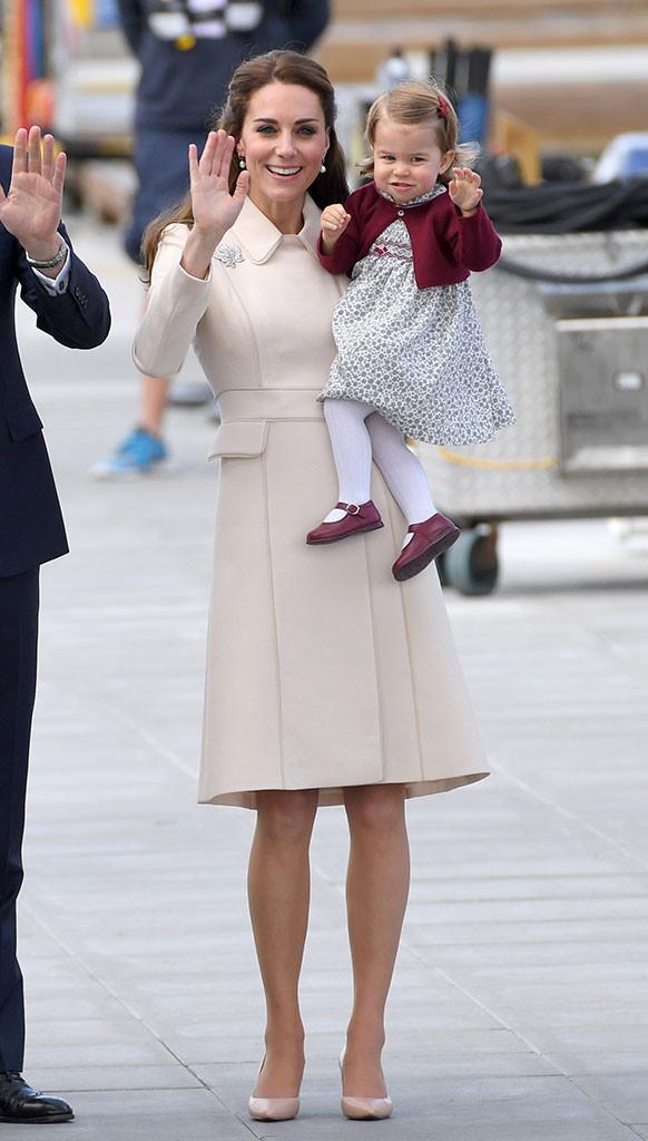 Kate Middleton, Princess Charlotte, Canada
