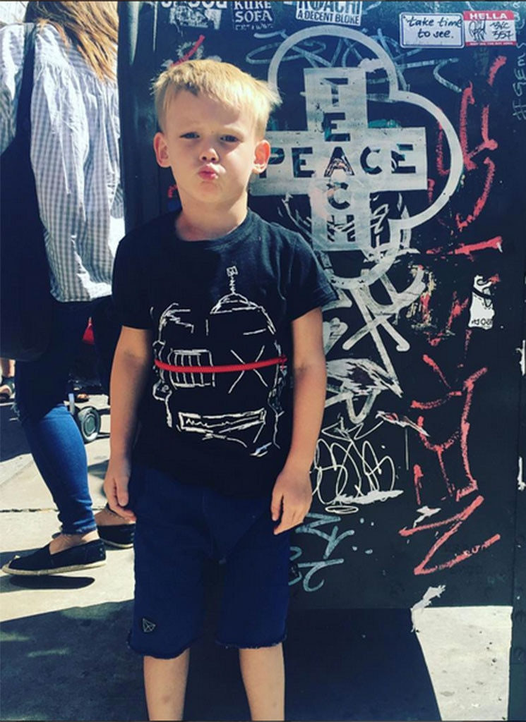 Luca Comrie From Cutest Celeb Kids On Instagram