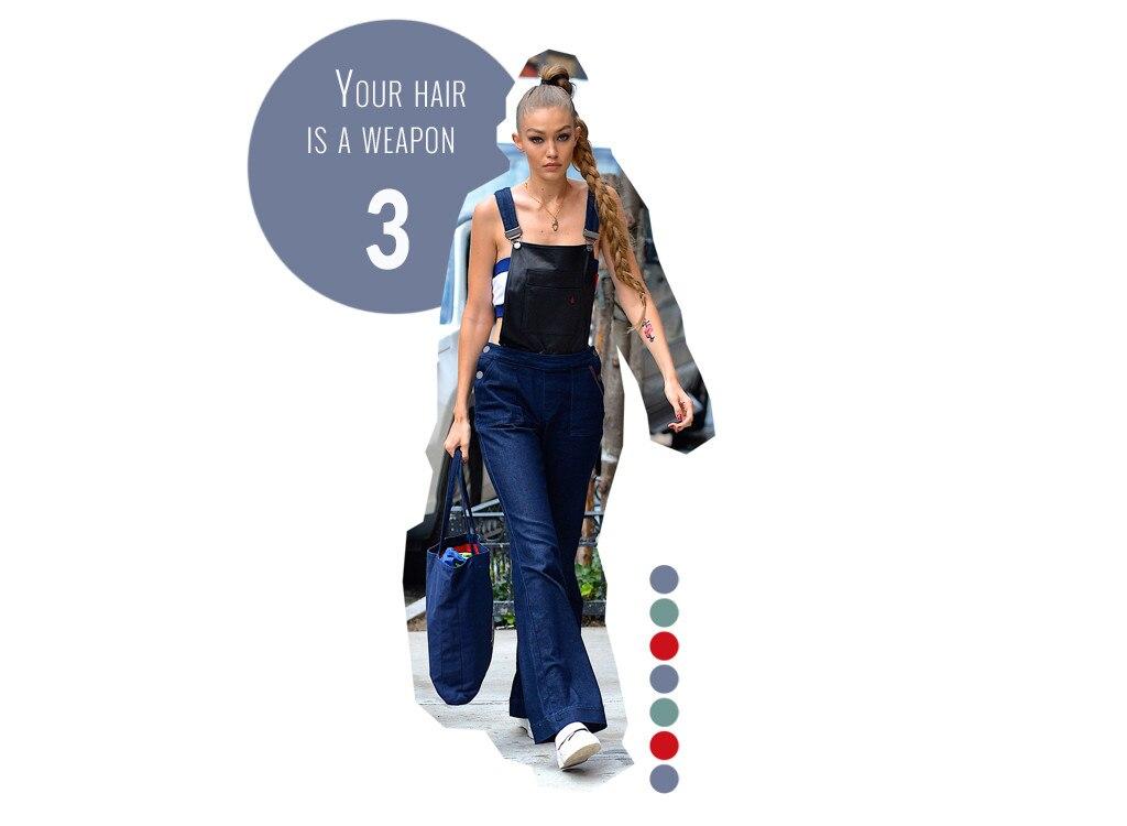 A Lesson in Style Badassery, by Gigi Hadid | E! News Australia