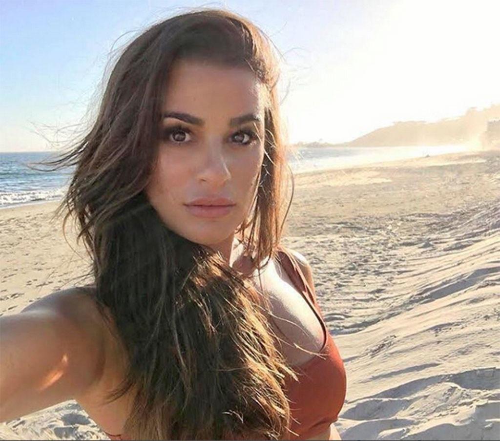Lea Michele, Celeb Selfies