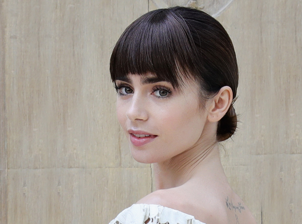 ESC: Fall Bangs, Lily Collins