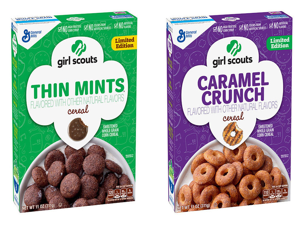 Cereal, Girl Scout Cookies