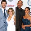 Chris Hemsworth, Elsa Pataky, Tom Hanks, Rita Wilson, Will Smith, Jada Pinkett Smith, Ellen DeGeneres, Portia De Rossi