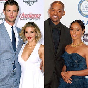 Chris Hemsworth, Elsa Pataky, Tom Hanks, Rita Wilson, Will Smith, Jada Pinkett Smith, Ellen DeGeneres, Portia De Rossi