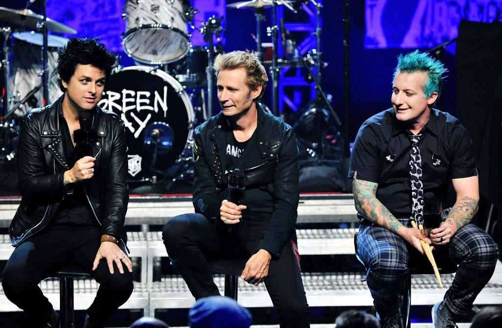 Green Day, Billie Joe Armstrong, Mike Dirnt, Tre Cool