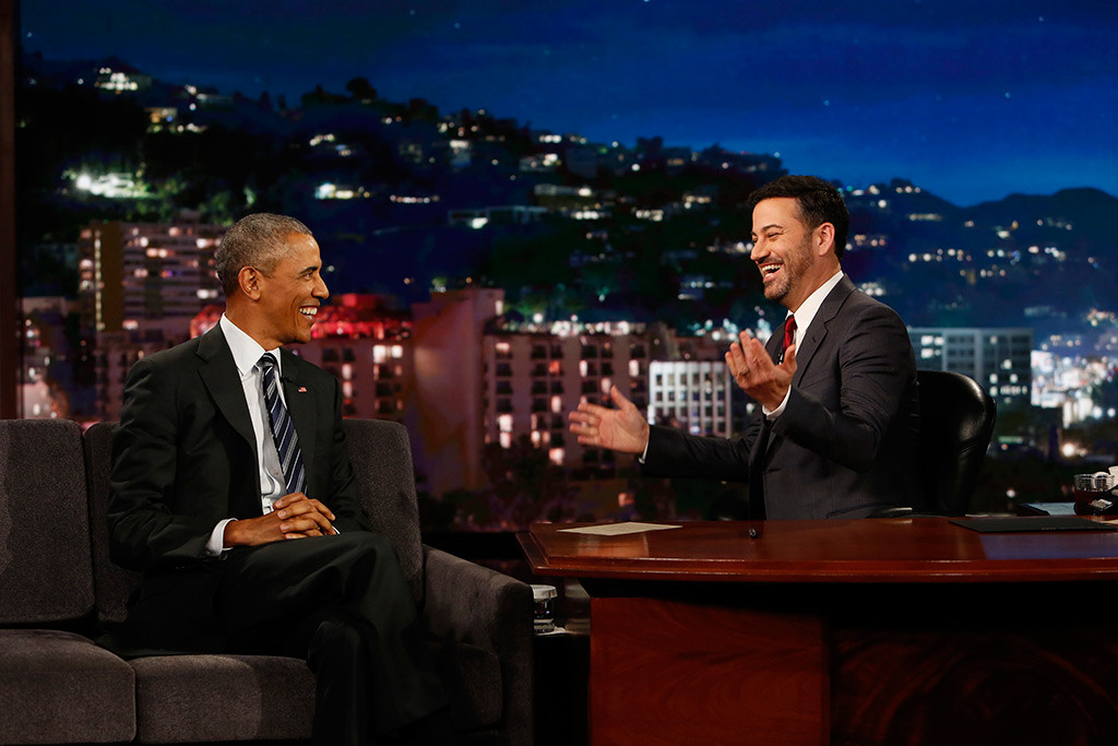 Barack Obama, Jimmy Kimmel Live