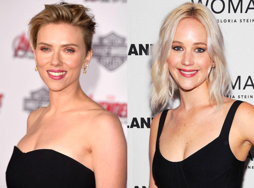 Scarlett Johansson, Jennifer Lawrence