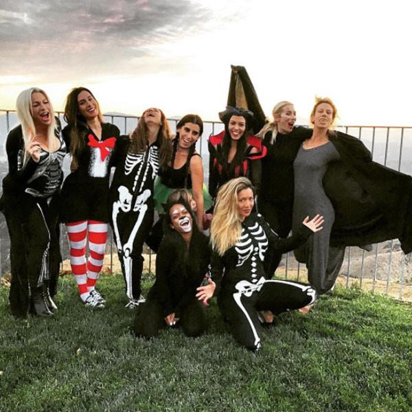 Kourtney Kardashian, Halloween Dinner