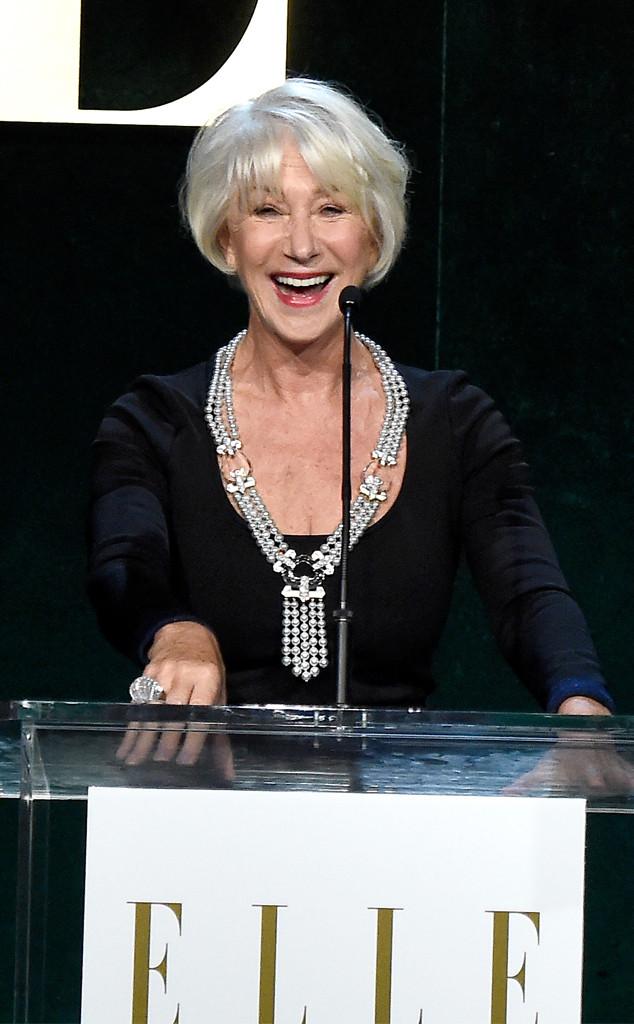 Helen Mirren, ELLE Women In Hollywood