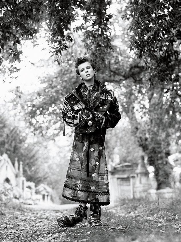 Millie Bobby Brown, Interview Magazine