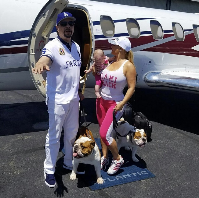 "Ice-T -  ""The ICE family just touched down in AZ,"" the rapper turned actor wrote with his picture-perfect family. ""I'm doing the new BC album out here and we have a ONE off concert. Oh yes it's hot as F--k!"""
