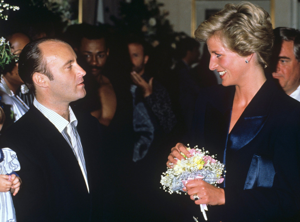 Phil Collins, Princess Diana