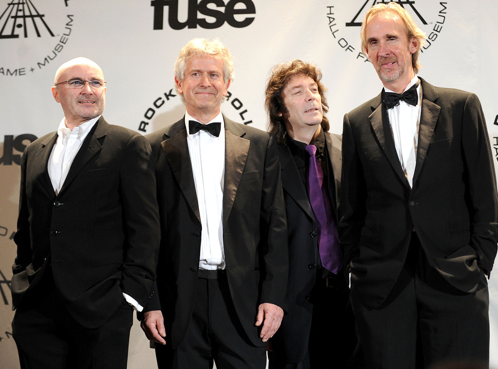 Phil Collins, Tony Banks, Steve Hackett, Mike Rutherford, Genesis