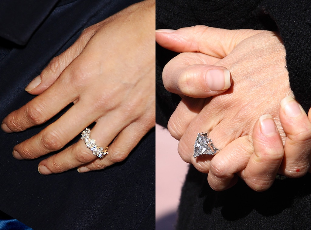 5 Celebrities Who Have Upgraded Their Engagement Rings E News