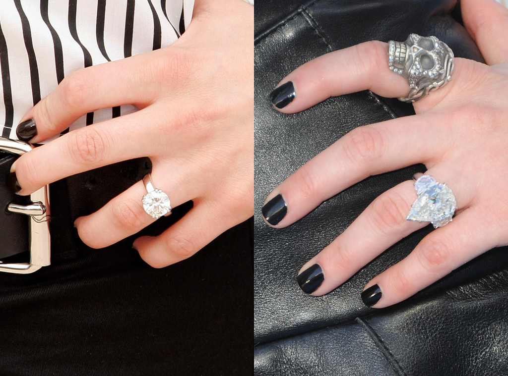 Avril Lavigne, Engagement Rings