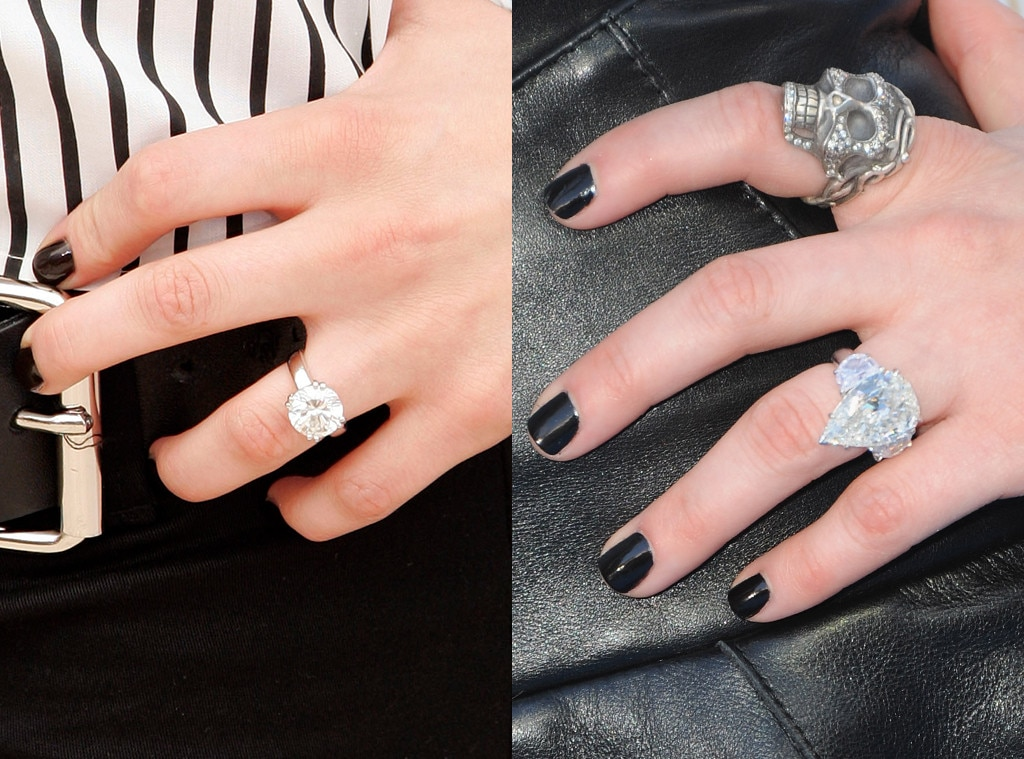 Nice Etonnant Avril Lavigne, Engagement Rings