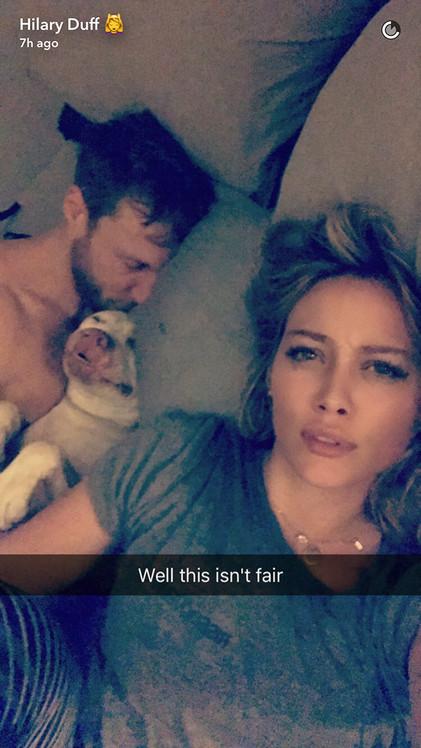 Hilary Duff, Jason Walsh