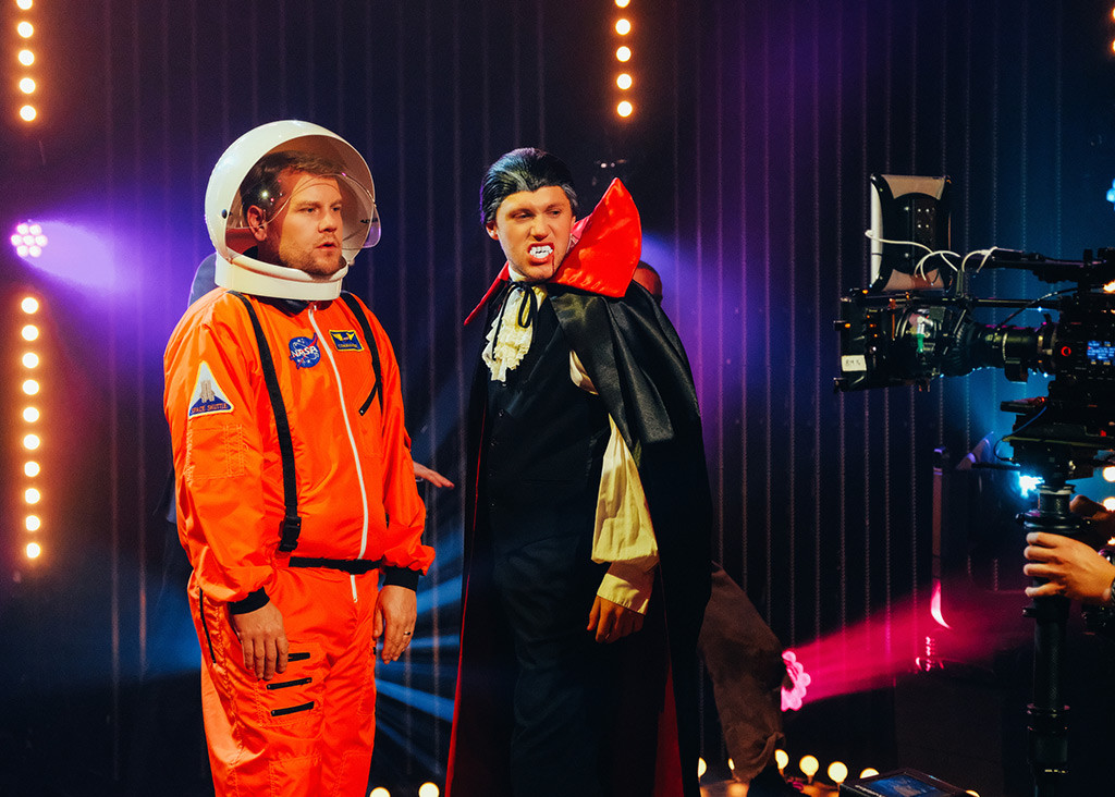 James Corden, Niall Horan, The Late Late Show