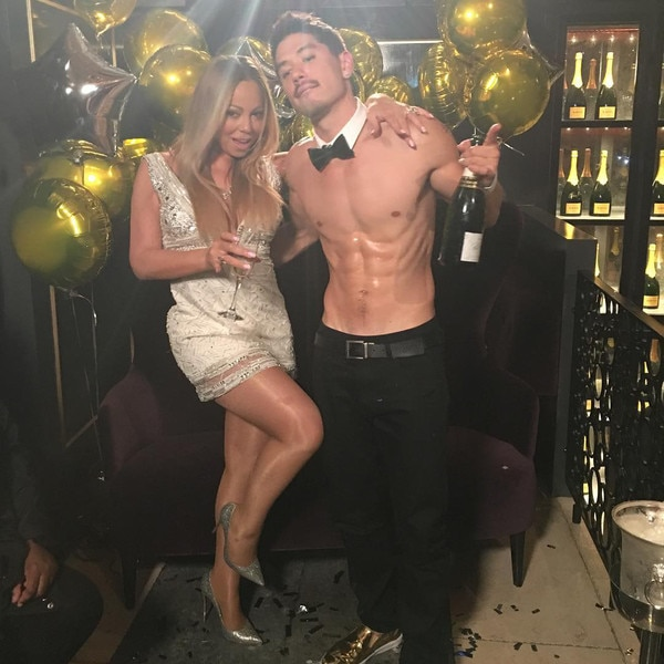 Image result for mariah carey and bryan tanaka