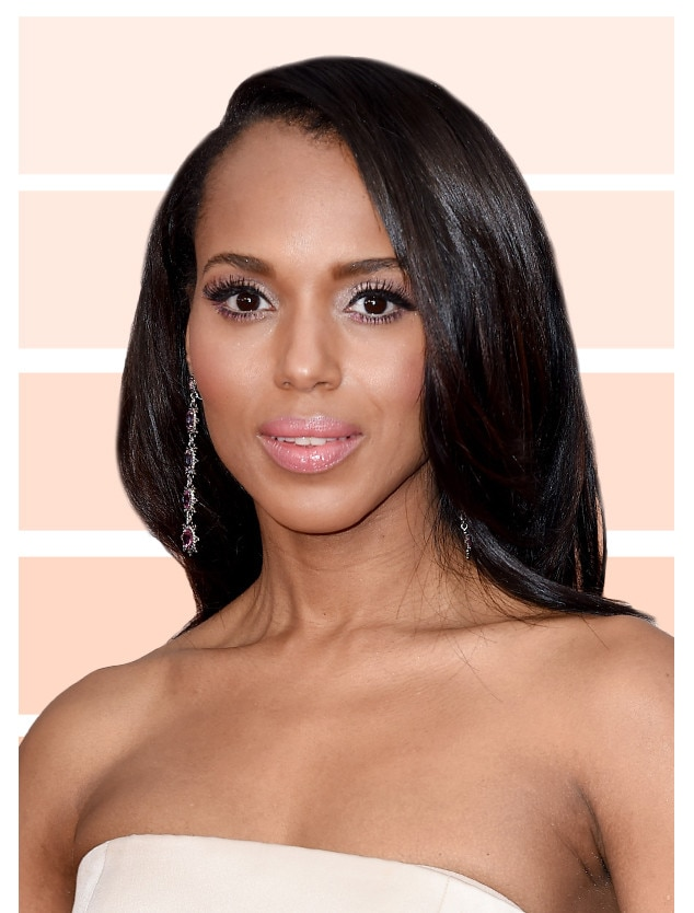 Kerry Washington From Best Nude Eye Shadows E News