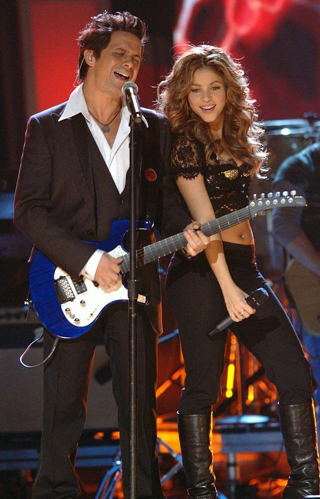 Shakira, Alejandro Sanz