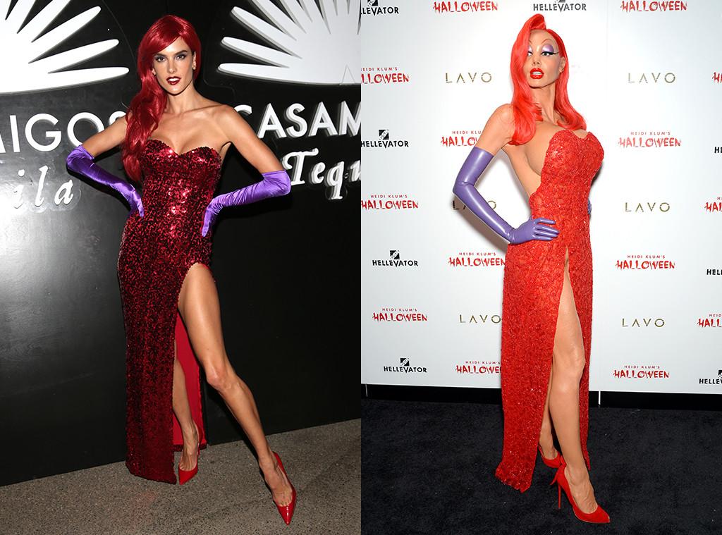 Supermodels Alessandra Ambrosio and Heidi Klum Battle for Best ...