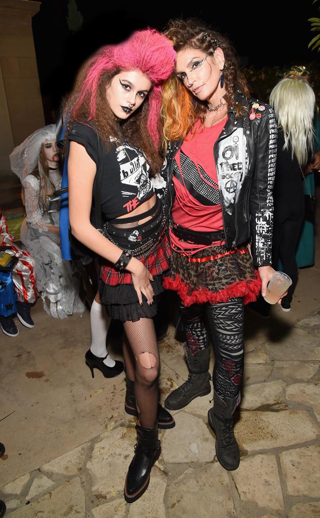 Kaia Jordan Gerber, Cindy Crawford, Halloween