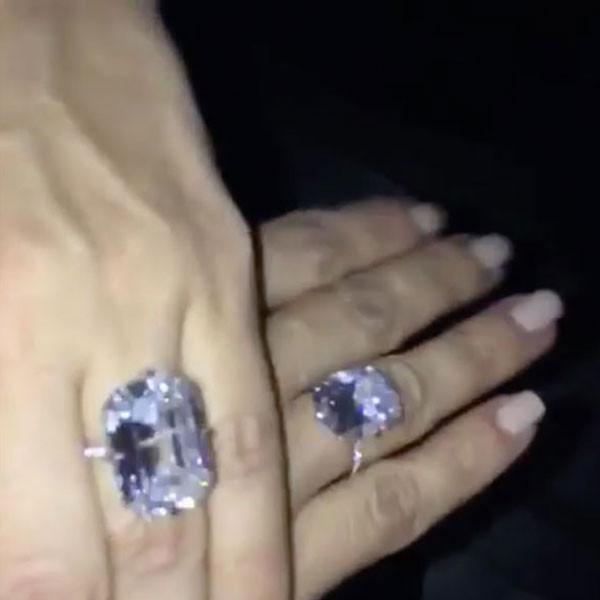 Kim Kardashian Lorraine Schwartz Ring