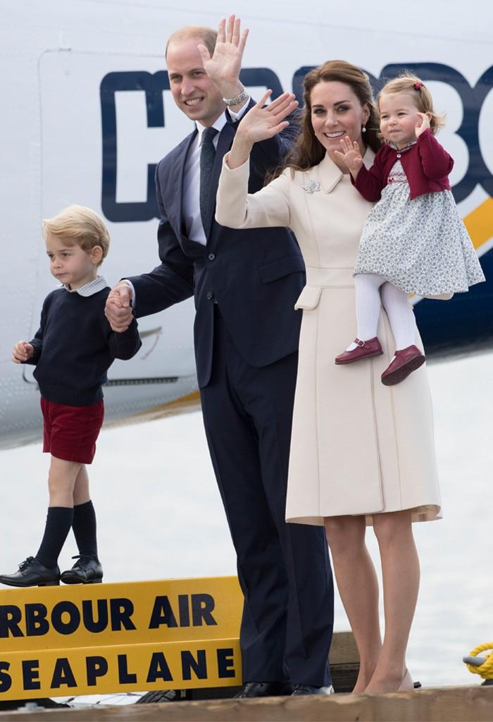 Prince William, Prince George, Princess Charlotte, Kate Middleton, Canada