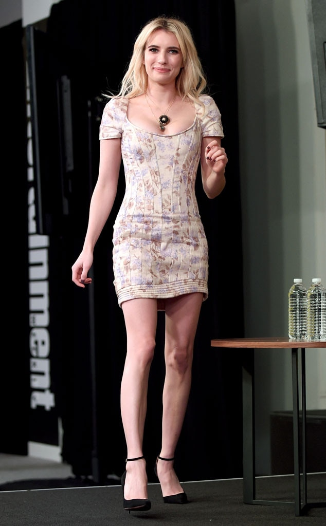 Fabulously Fushia From Emma Roberts Best Looks E News Australia