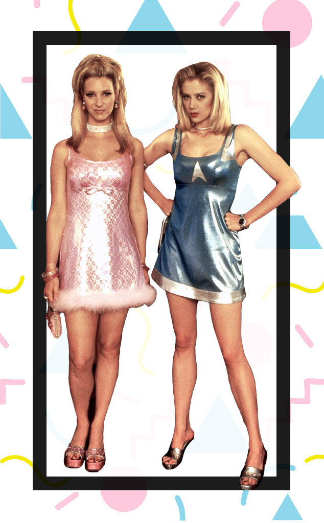 '90s Week, Fashion, Romy and Michelle's High School Reunion