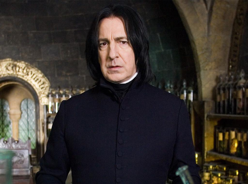 Alan Rickman, Severus Snape, Harry Potter, Teacher