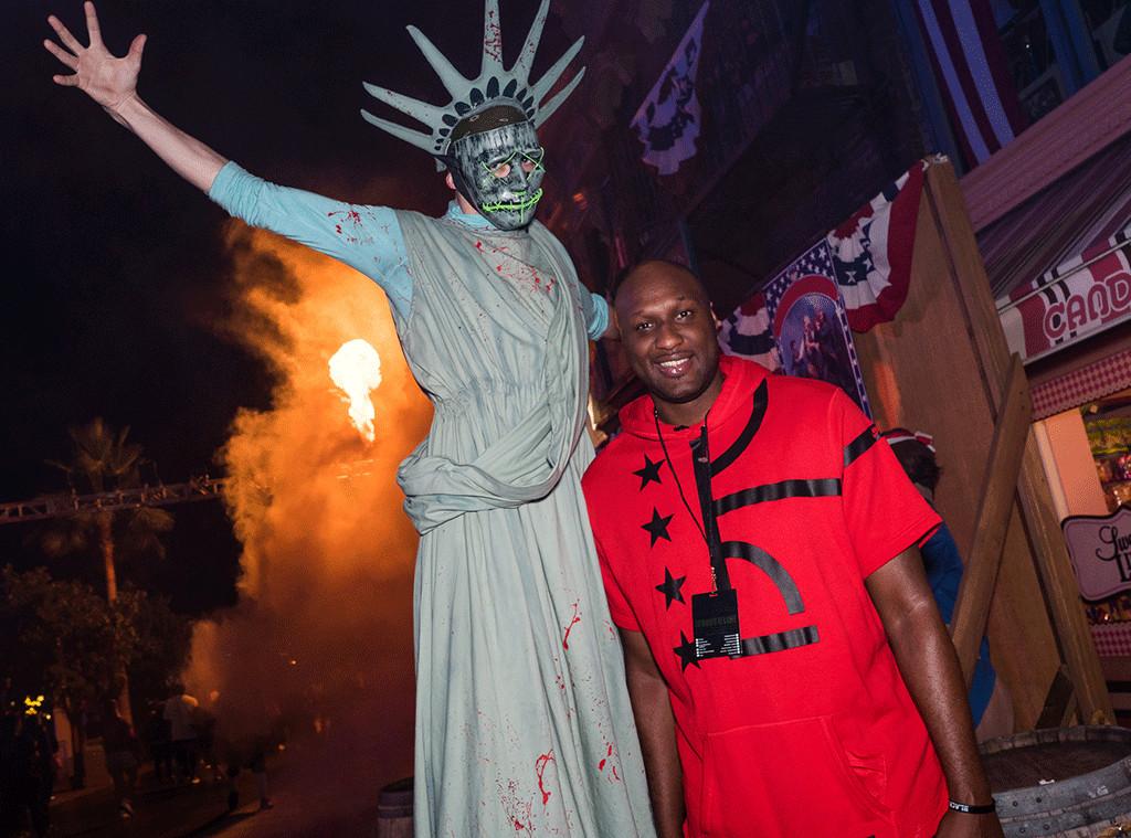 Lamar Odom, Halloween 2016