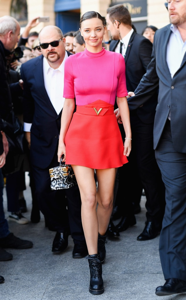 Miranda Kerr From Best Celeb Street Style From Paris Spring 2017 E News