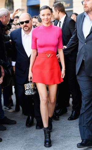 ESC: PFW Celeb Street Style, Miranda Kerr