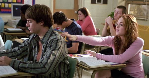 Lindsay Lohan, Jonathan Bennett, Mean Girls