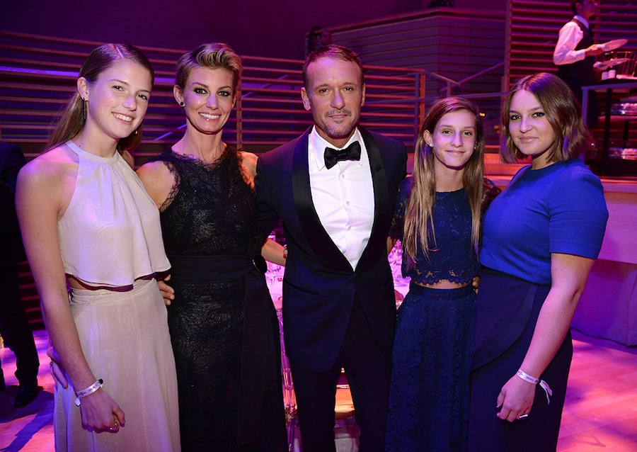 Tim McGraw, Faith Hill, Countrys Cutest Families