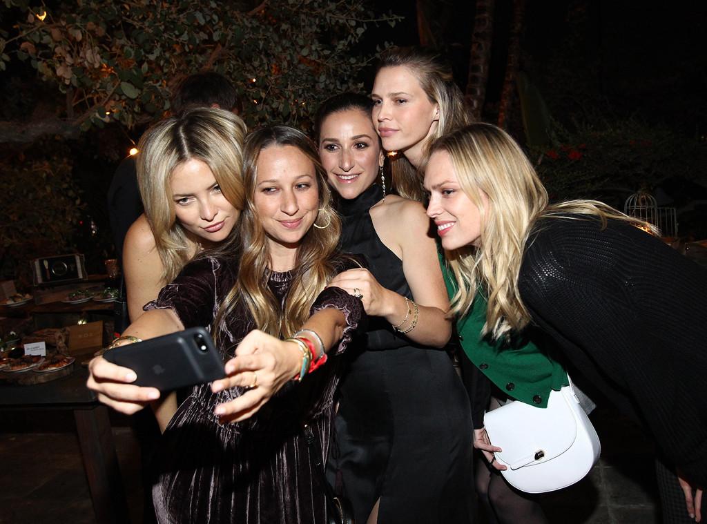 Kate Hudson, Jennifer Meyer, Sara Foster, Sarah Meyer, Erin Foster