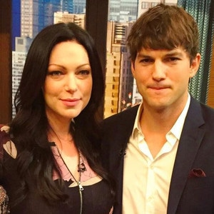 Kelly Ripa, Laura Prepon, Ashton Kutcher