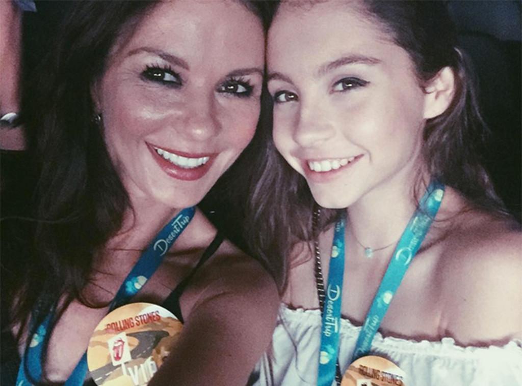 Catherine Zeta-Jones, Carys Douglas, Instagram