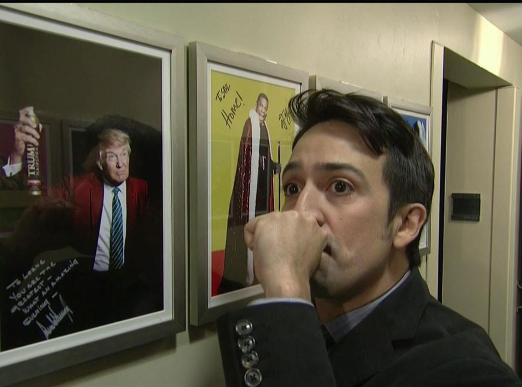 Lin-Manuel Miranda, Saturday Night Live, Donald Trump