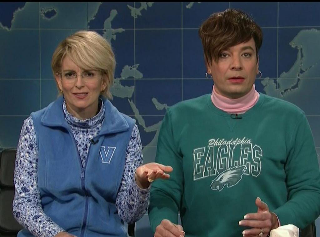 Jimmy Fallon Tina Fey Saturday Night Live