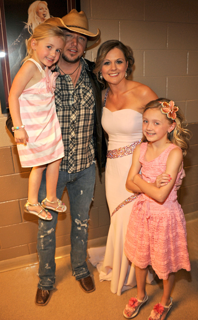 Jason Aldean, Countrys Cutest Families