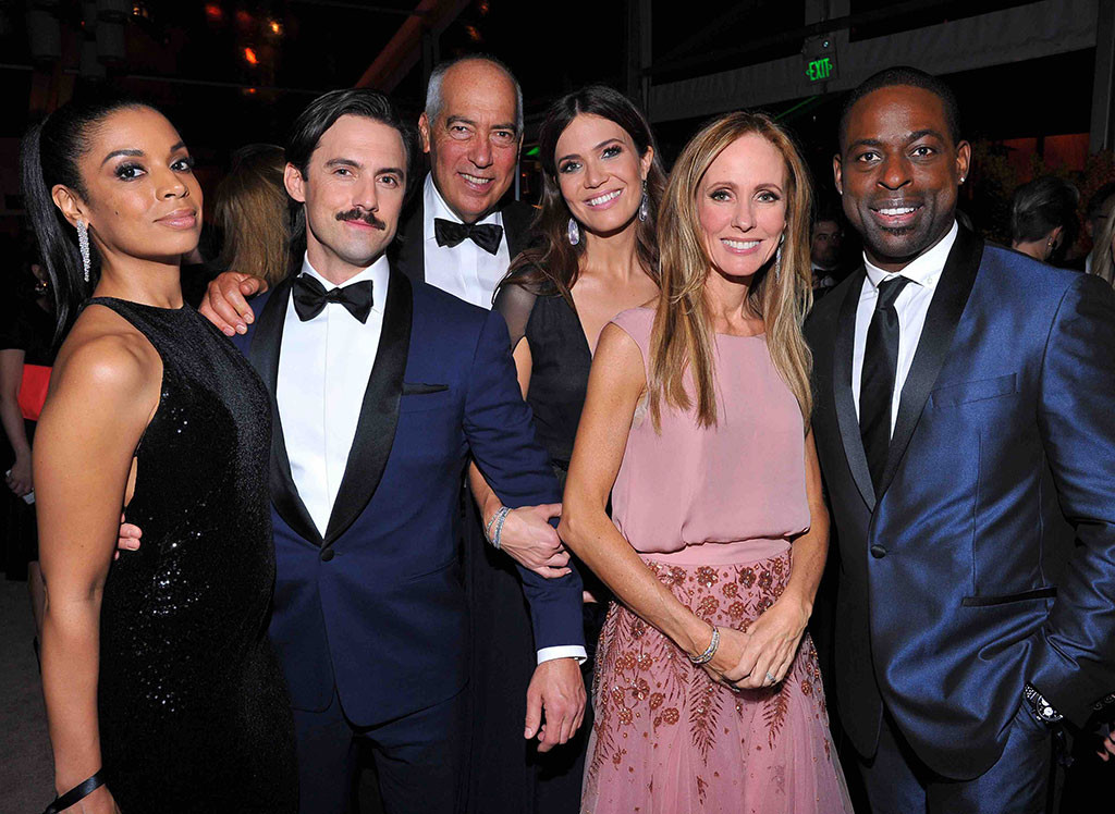 Milo Ventimiglia, Mandy Moore, Sterling K. Brown, Golden Globes Party Pics